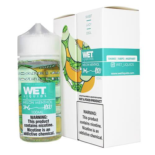 Wet Liquids ICED - Melon Menthol ICED eJuice