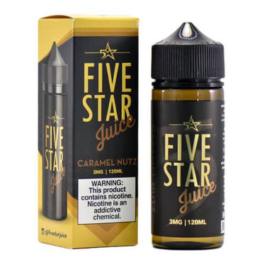 Five Star Juice - Caramel Nutz