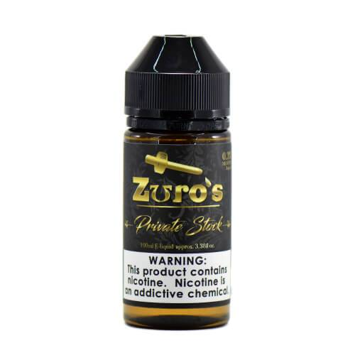 Zuro's MFG Premium eLiquids - Zuro's Private Stock