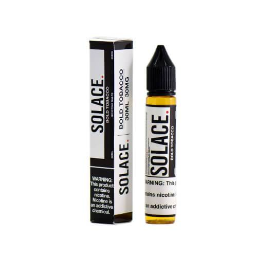 Solace Salts eJuice - Bold Tobacco