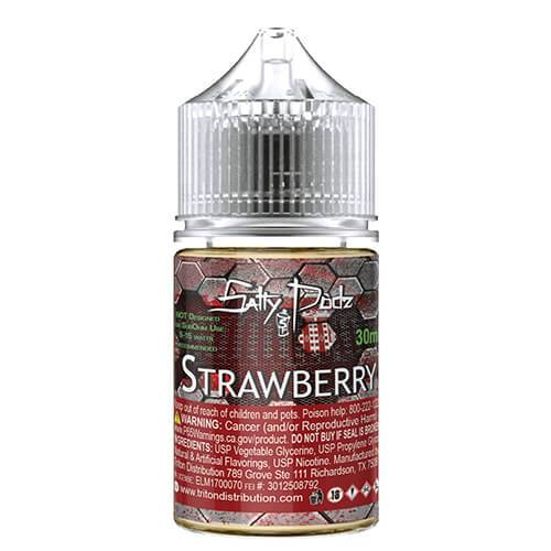 Salty Podz eJuice - Strawberry