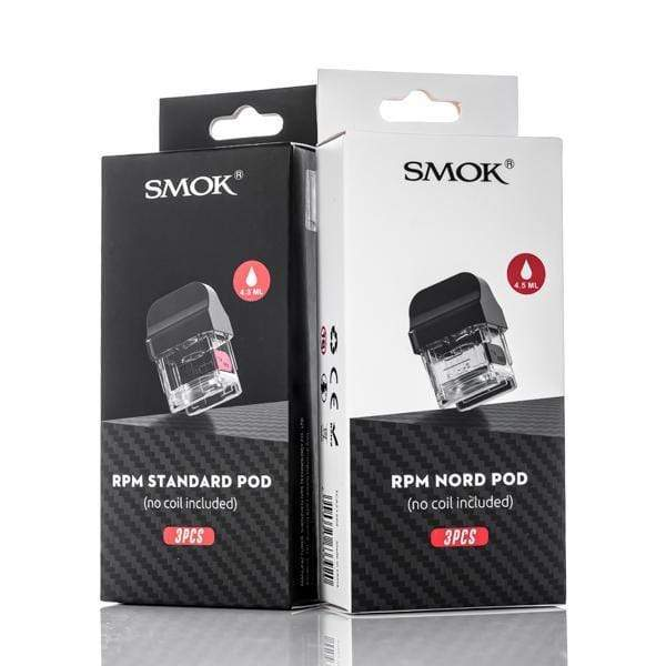 Smok RPM 40 Replacement Pod (no coil) 3 Pack
