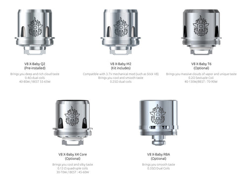 TFV8 X Baby Coils 3 Pack