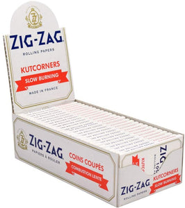 Zig Zag Rolling Papers Kut Corners Slow Burn
