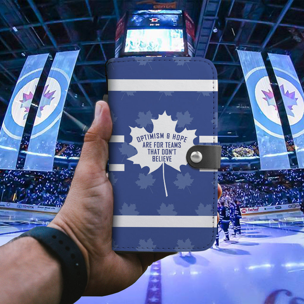 Toronto Maple Leafs Fan Premium Wallet Phone Case