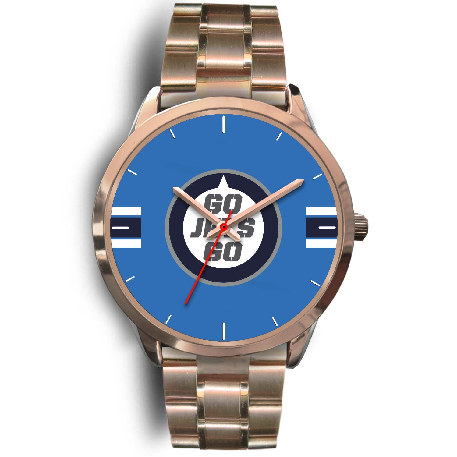 Custom Designed Classic Rose Gold Alloy watch For WJ fans - Blindly Shop