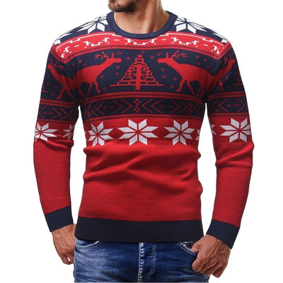 Christmas Style Winter Pullover Sweater for Men - Blindly Shop