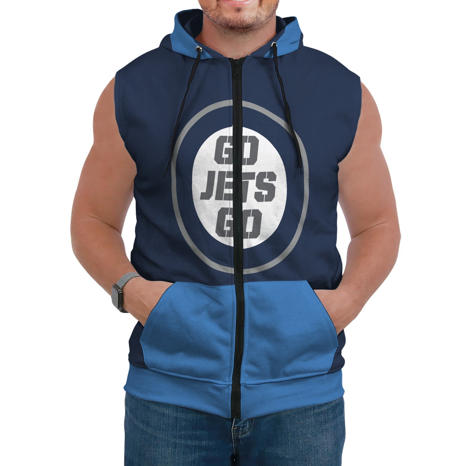 Exclusive For Fans Custom Sleeveless  Hoodie - Blindly Shop