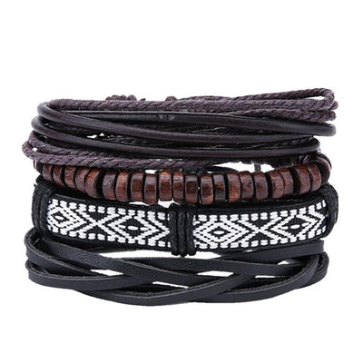 Leather bracelets for men and women. - Blindly Shop