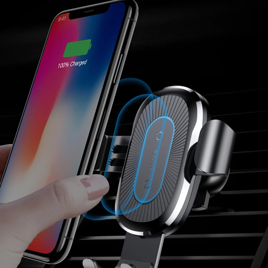 Premium Wireless Car quick Charger - Blindly Shop