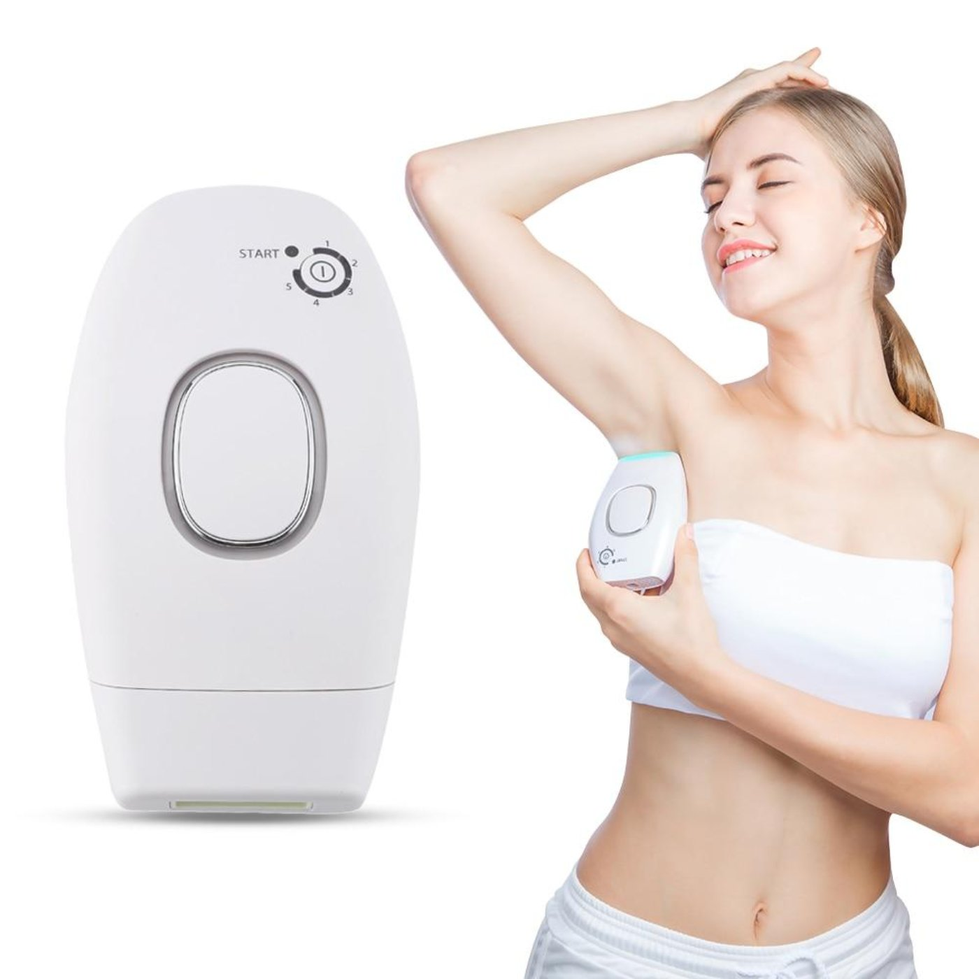 IPL Flash & Go Permanent Laser Hair Remover