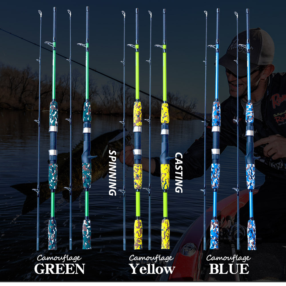 Spinning Casting Hand Lure Fishing Rod - Blindly Shop