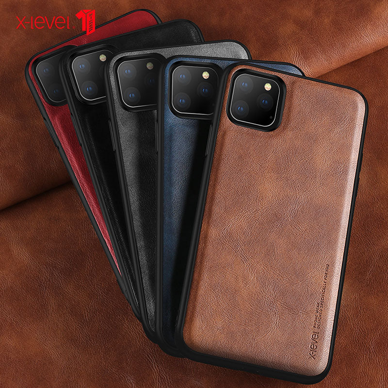 Premium Leather Case For iPhone 11, X, 8, &7 series