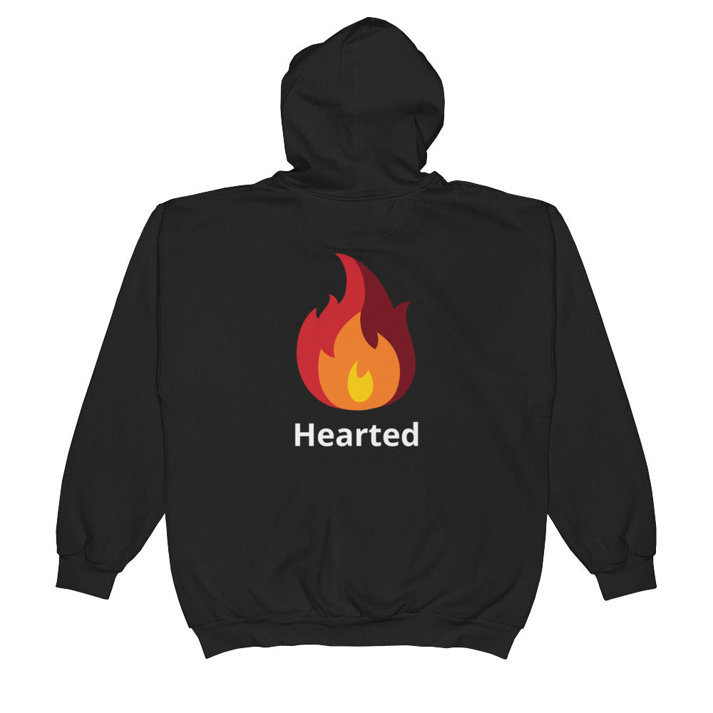 Warm Hearted Unisex  Zip Hoodie - Blindly Shop