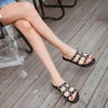 Summer Rivet Slippers For Women - Blindly Shop