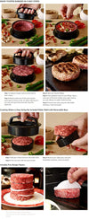 Round Shape Hamburger Meat Pressing Tool - Blindly Shop