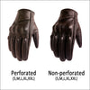 Men Leather Electric Bike Glove - Blindly Shop