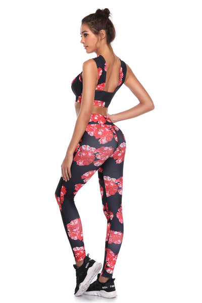 Fitness Running Workout Gym Wear yoga Set - Training Suit / Activewear - Blindly Shop