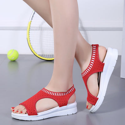 Women Mesh Platform Sandals - Blindly Shop
