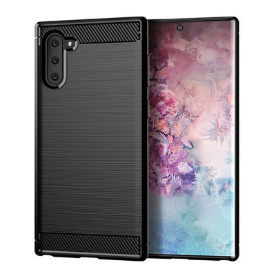 Brushed Carbon Fiber Case for Samsung Galaxy Note 10 and note 10+ - Blindly Shop