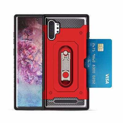 Shockproof Case for Samsung Galaxy Note10 and 10 Plus with the bank card metal bracket - Blindly Shop