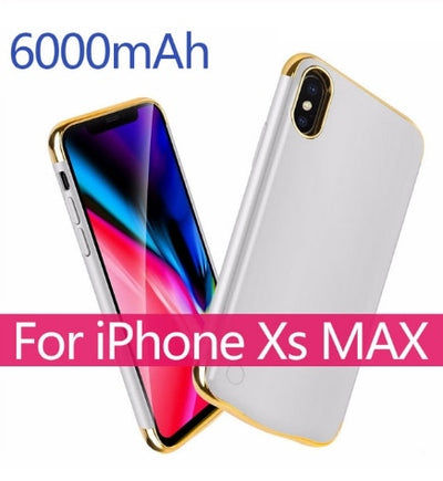 Battery Charger PowerBank Case For iphone 6 6s 7 8 X XS MAX XR - Blindly Shop