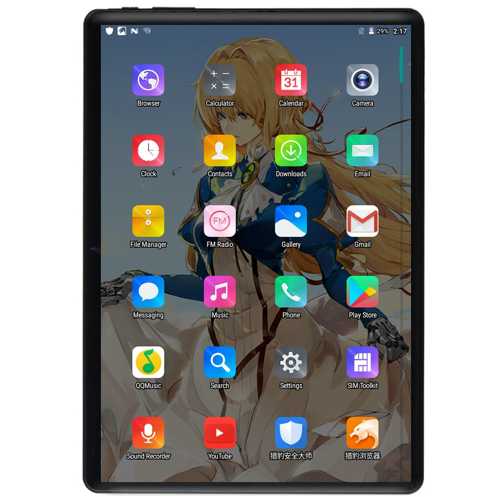 10 Inch Dual SIM  Android Tablet - Blindly Shop