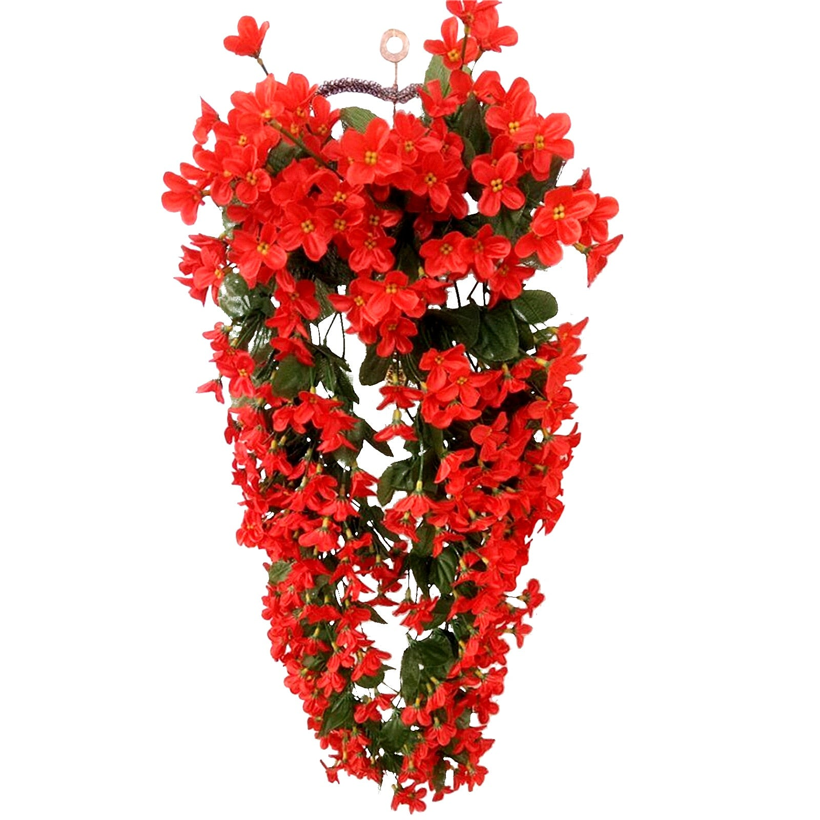 Artificial Flower Wall Hanging Basket Flower for Home Decor - Blindly Shop