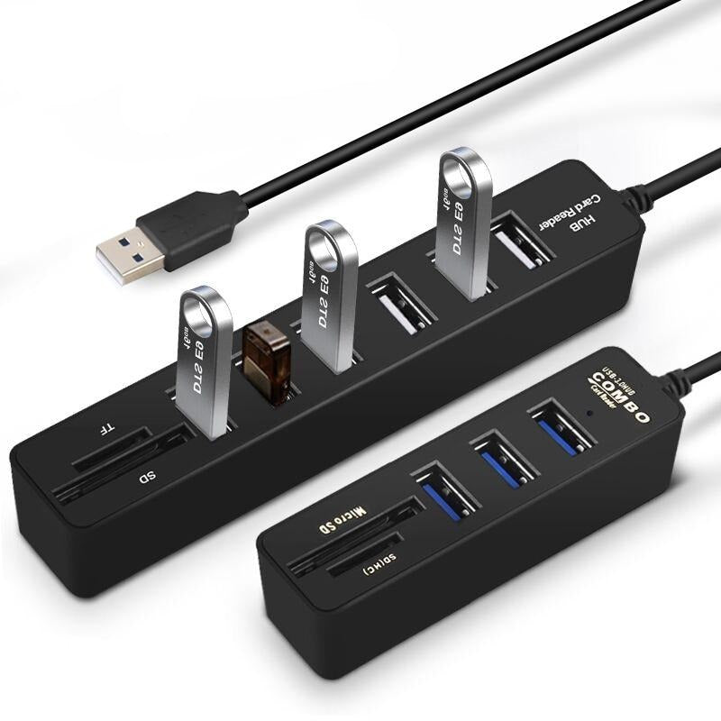 Multi USB 3.0 Hub USB All In One For PC - Blindly Shop