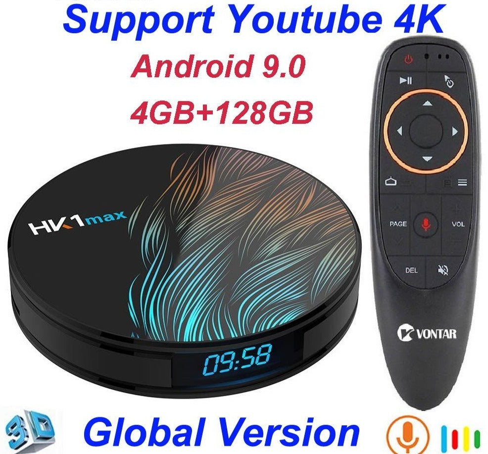 HK1 Max Android 9.0 Smart TV Set Top Box - Blindly Shop