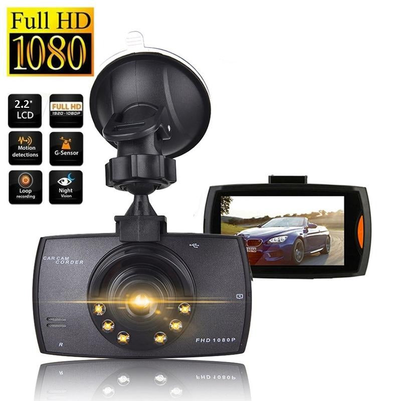 Car DVR Dash Camera Full HD 1080P Driving Recorder with Night Vision - Blindly Shop