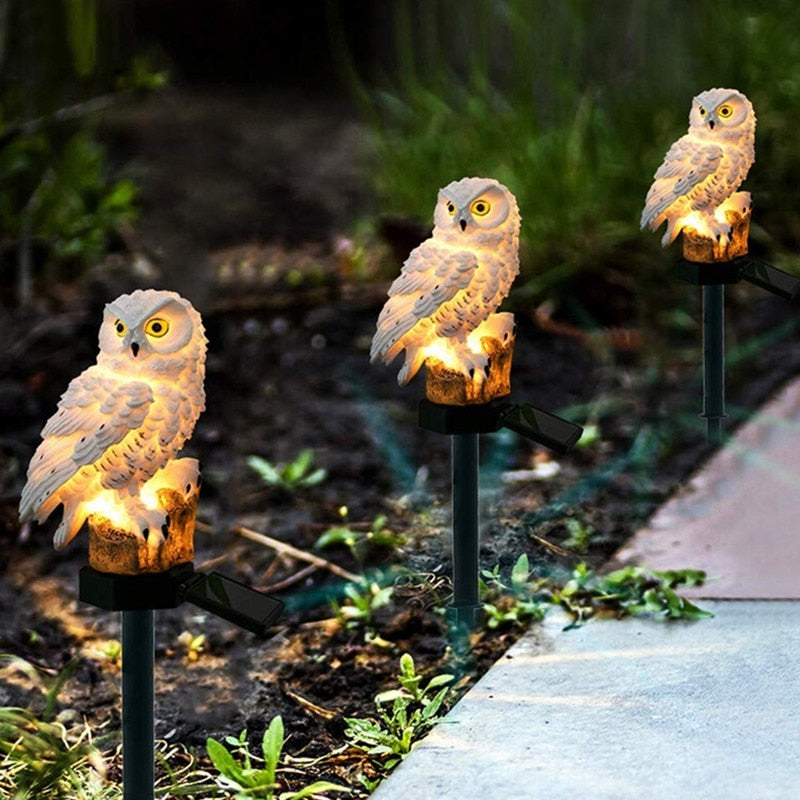 Waterproof Owl Stake Lawn Light Decoration - Blindly Shop