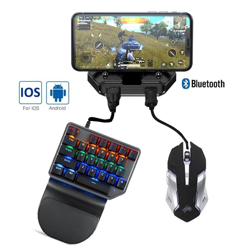Gaming controller Keyboard Mouse iPhone and Android