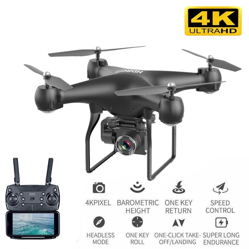 HD 4k WiFi quadcopter drone with camera - Blindly Shop