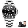 Stainless Steel Waterproof Business Sport Wristwatch - Blindly Shop