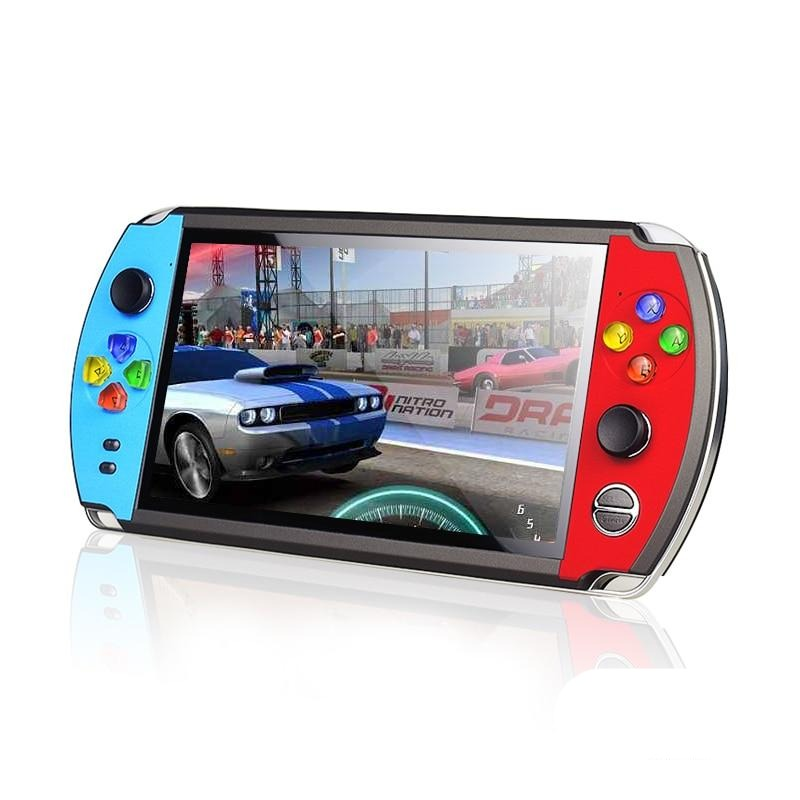 4.3/5 inch Double Rocker Handheld Game Console Support TV