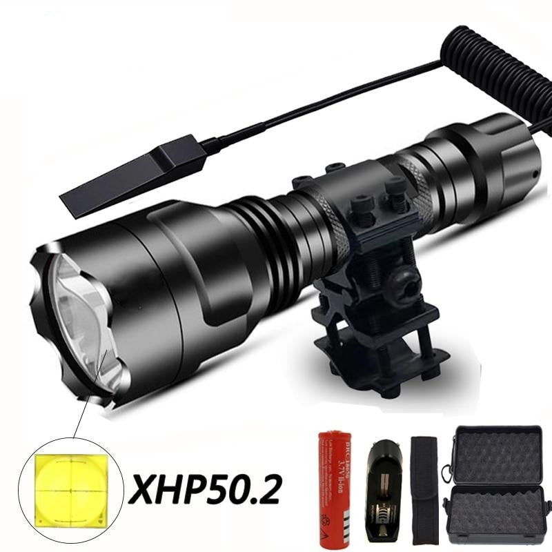 Waterproof T6/L2 LED Tactical Flashlight