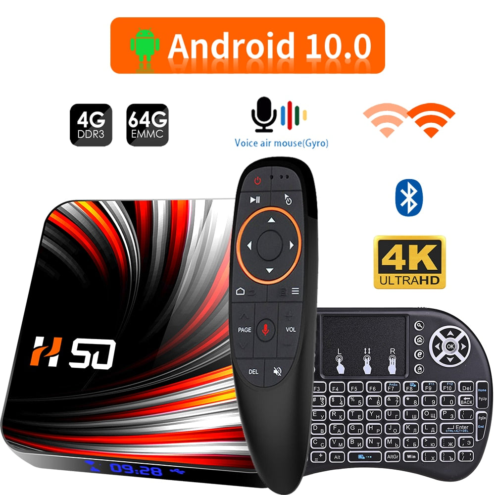 Premium Android 10 4k TV Box