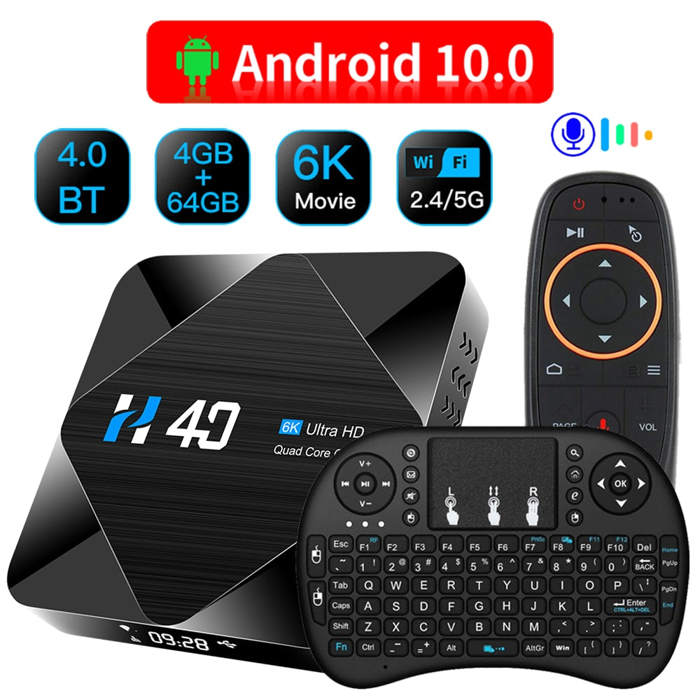 Android 10.0 6K TV Box
