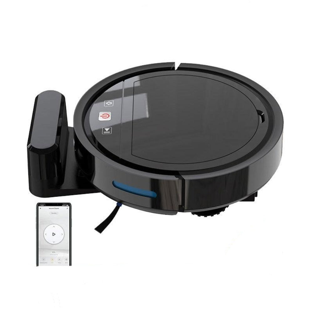 Robotic Smart Vacuum Cleaner with Self-Charging