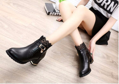 LATEST Women Thick Heel Platform Sexy boots/Shoes - Blindly Shop