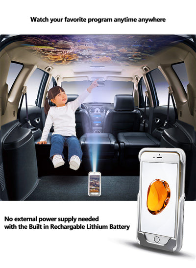 Mini I phone DLP Wifi Portable Pocket LED Smartphone Projector - Blindly Shop
