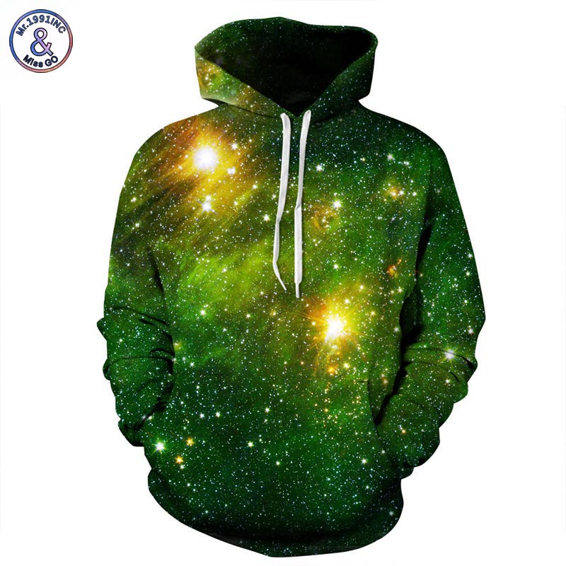 PREMIUM Space Galaxy  Sweatshirts Men/Women Hoodies With Hat Print Stars Autumn Winter Loose Thin Hooded  Tops - Blindly Shop