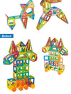 New 110pcs Mini Magnetic Designer Construction Set Model & Building Toy Plastic Magnetic Blocks Educational Toys For Kids Gift - Blindly Shop