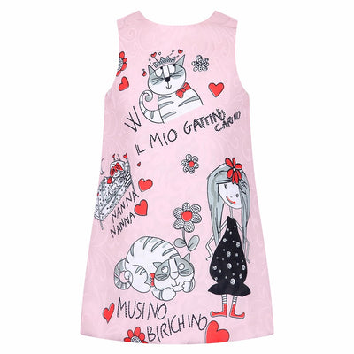 Princess Dress for Girls Clothes Character Printed Robe Fillette Costumes for Children Clothing Brand Girls Dresses Kids - Blindly Shop