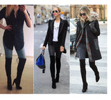 Sexy Over the Knee Stretch Silm Boot for Women - Blindly Shop