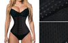 Underbust Corset Slimming Body Shaper Belly Waist Trainer Corset Women Workout Tummy Fat Burner - Blindly Shop