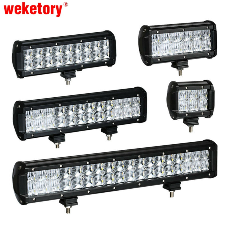 weketory LED Work Light Bar for Tractor Boat Off Road 4WD 4x4 Truck SUV ATV - Blindly Shop
