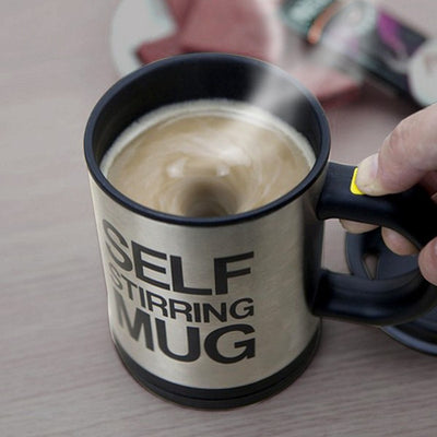 Self Stirring Coffee Cup  400 ML Automatic Electric Coffee Cups - Blindly Shop