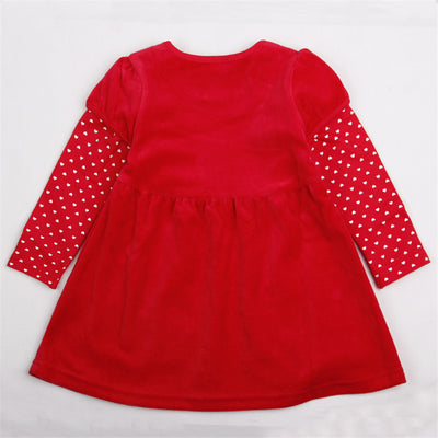 PREMIUM casual wear baby girl clothes long sleeves children kids girl for beautiful party dress. - Blindly Shop